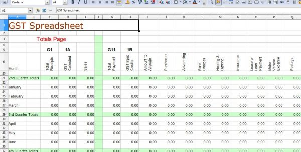 Basic Bookkeeping In Excel 1