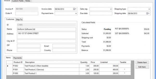 Best Business Invoice Programs