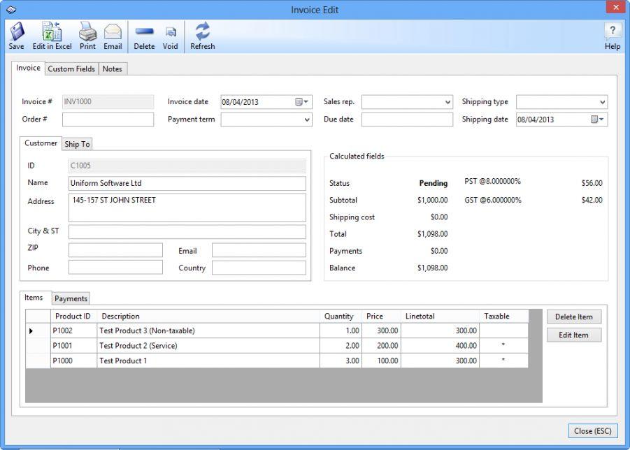 Best Business Invoice Programs