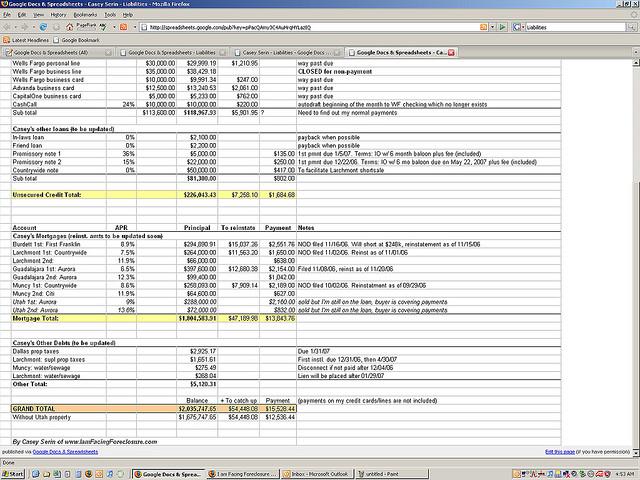 Free Blank Financial Statement Form