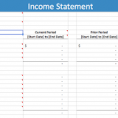 Printable Income And Expense Form Simple Income Statement Template