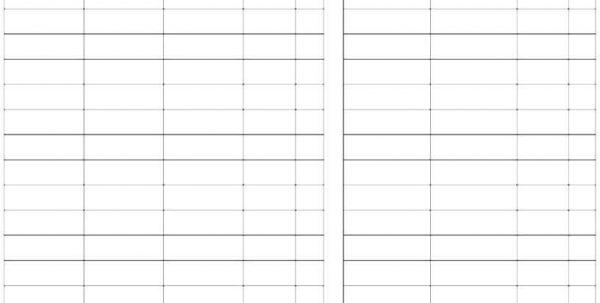 Basic Accounting Spreadsheet 2