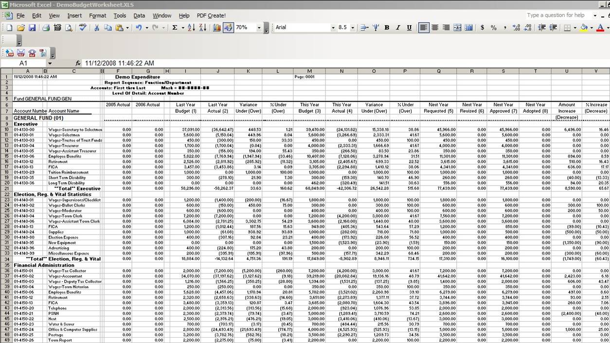bookkeeping template excel