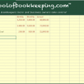 Bookkeeping Template For Small Business