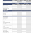 Simple Balance Sheet Template