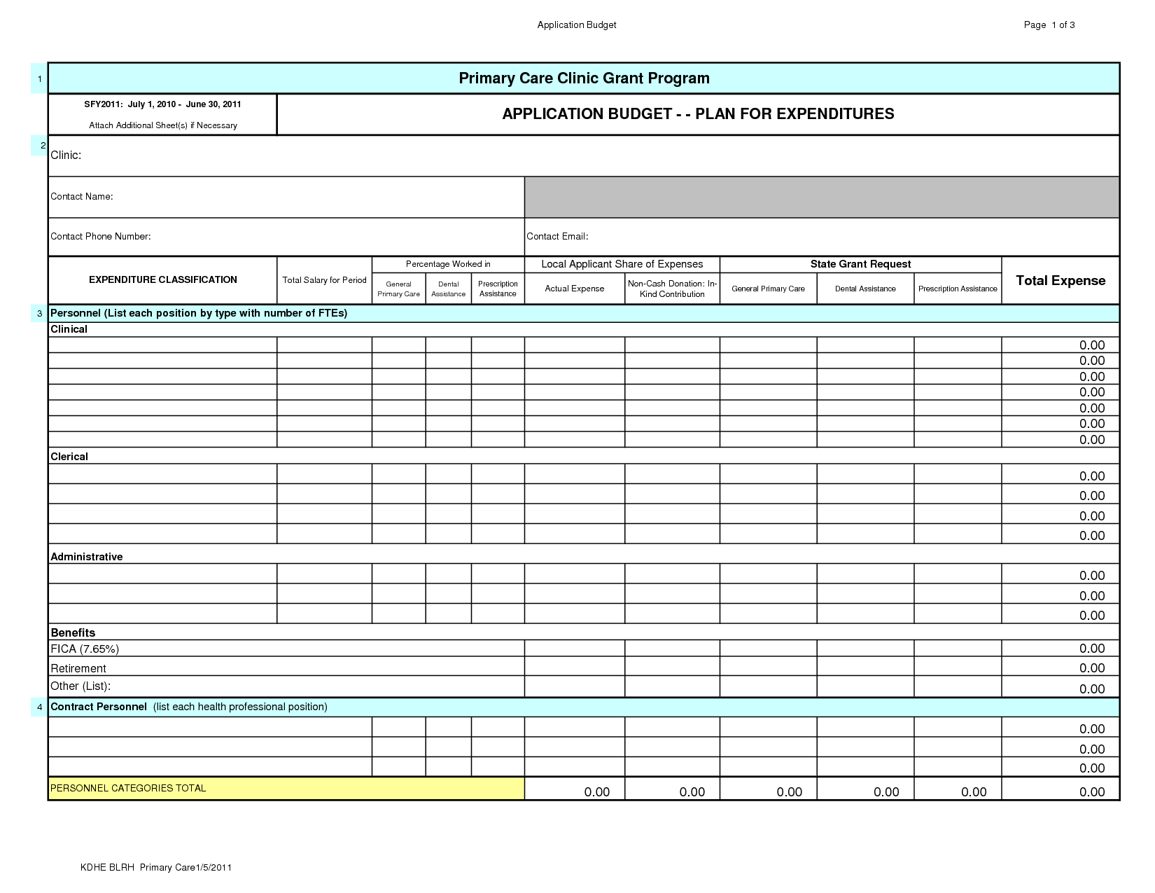 personal finance excel sheet