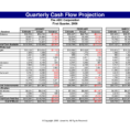 Daily Cash Flow Statement Template