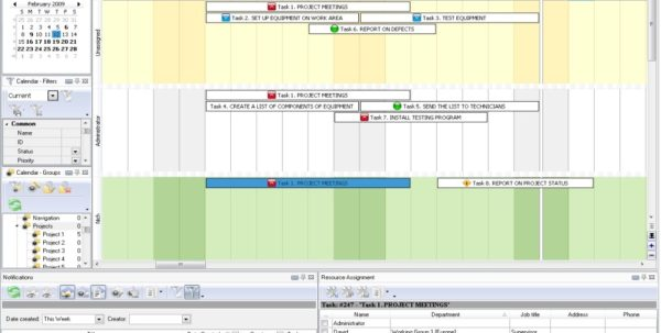 Employee Productivity Spreadsheet Template