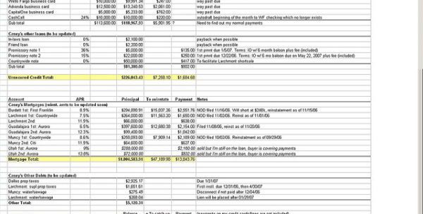 Free Blank Financial Statement Form