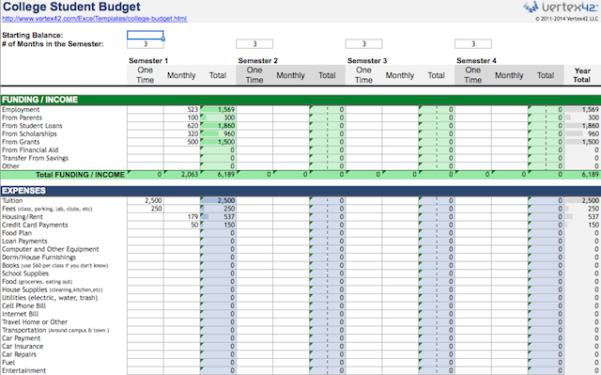 Free Blank Spreadsheet Downloads