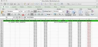 Self Employment Spreadsheet Example