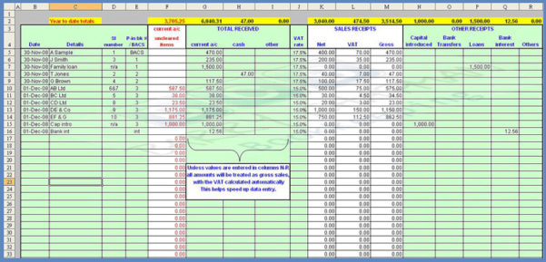 Simple Bookkeeping Examples 3