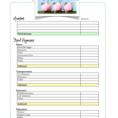 Simple Budget Worksheet PDF