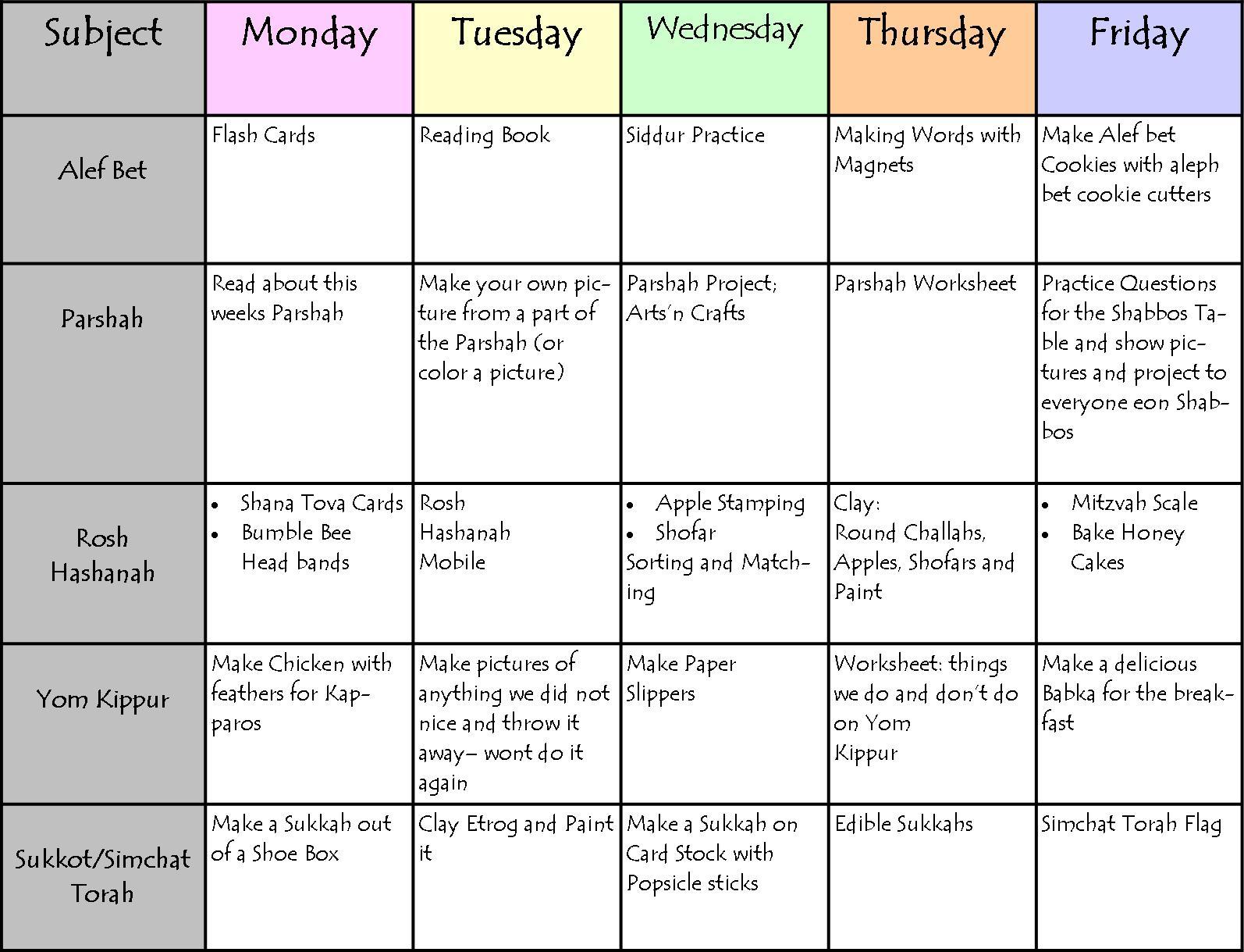 time management schedule maker