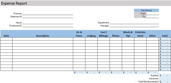 Accounting Worksheet Template Microsoft Excel