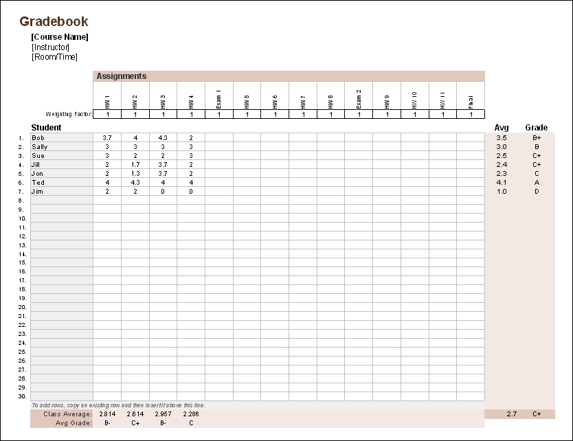 Accounting Worksheet Templates
