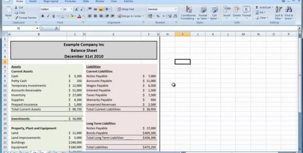 Balance Sheet Template Excel 2010 Balance Sheet Template Excel Microsoft Spreadsheet Template, Excel Spreadsheet Templates, Spreadsheet Templates for Business