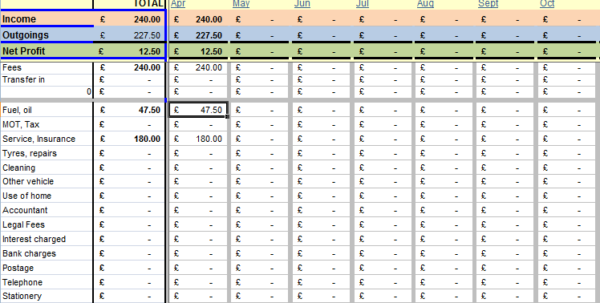 Bookkeeping Spreadsheets For Small Business