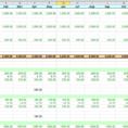 Excel Cash Flow Template Software