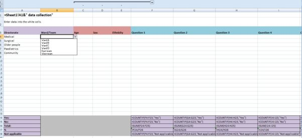 Excel Data Spreadsheet Templates