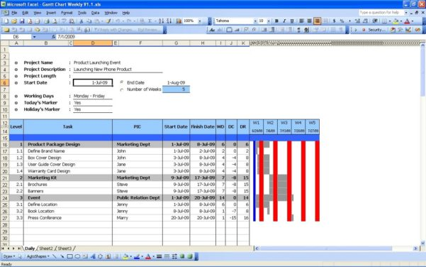 Sample Excel Spreadsheets  Excel Templates