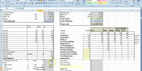 Free Estimate And Invoice Templates Estimate Spreadsheet Template Spreadsheet Templates for Business, Estimate Spreadsheet