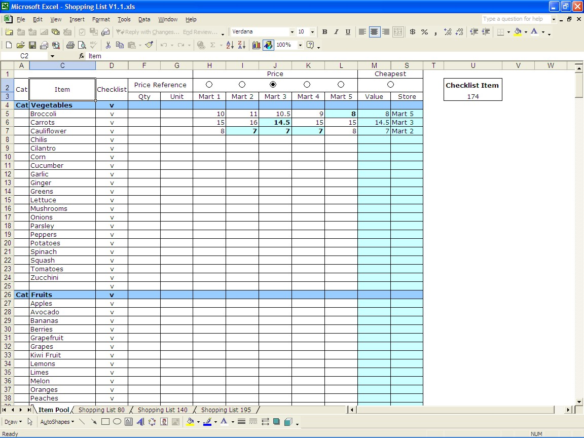 inventory control template with count sheet 1