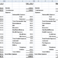 Monthly Income Statement Format In Excel