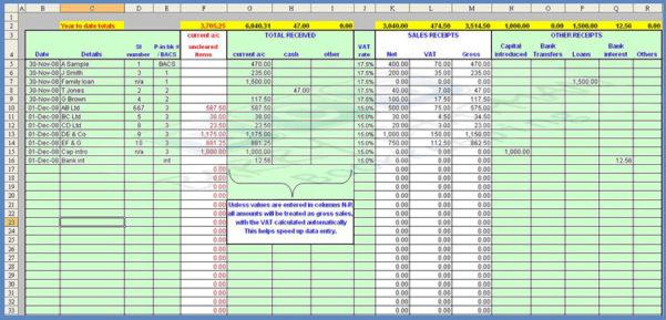 Payroll Spreadsheet Template 1