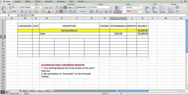 Printable Bank Reconciliation Worksheet