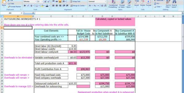 Recipe Costing Formula