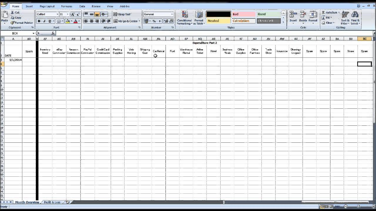 Requirements Gathering Template Excel