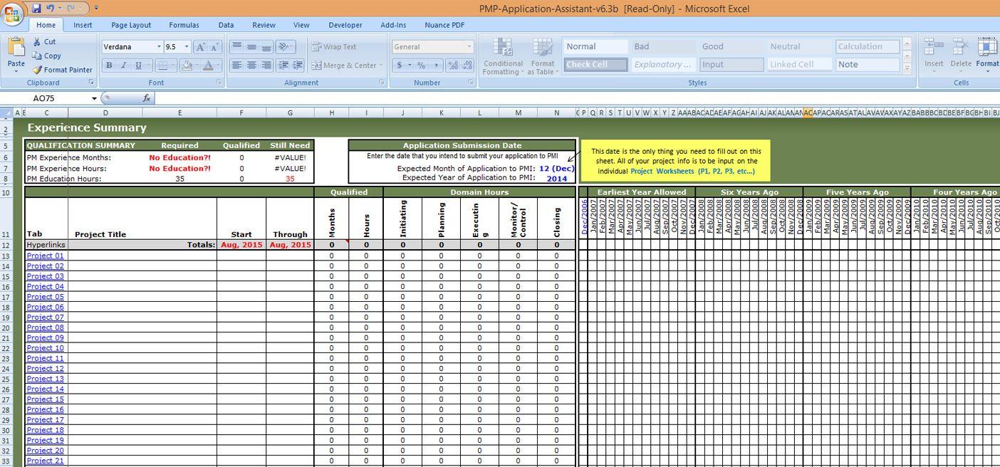 Requirements Traceability Matrix Template