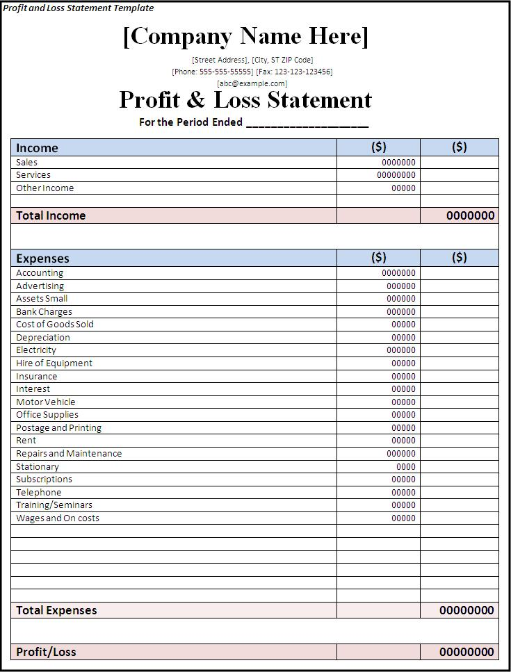 Simple Cash Flow Template