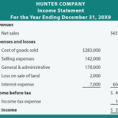 Simple Income Statement Template Free Simple Income Statement Template