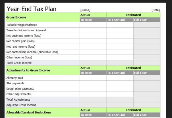 tax return spreadsheet template spreadsheet templates for business tax spreadshee tax return
