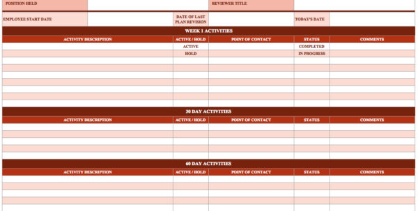 Vacation And Sick Time Tracking Spreadsheet