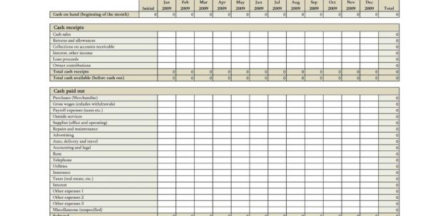 Accounts Payable Excel Spreadsheet Template