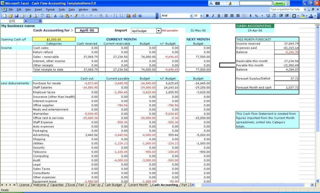 Basic Excel Spreadsheet Templates1