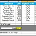 Best Excel Sheet For Monthly Expenses