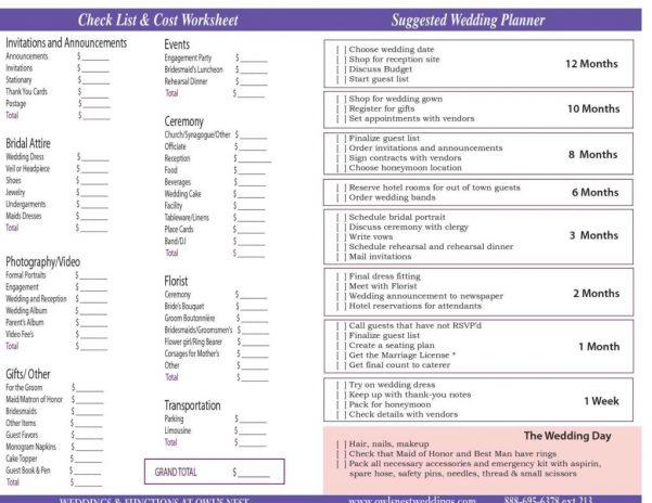 Best Wedding Budget Spreadsheet