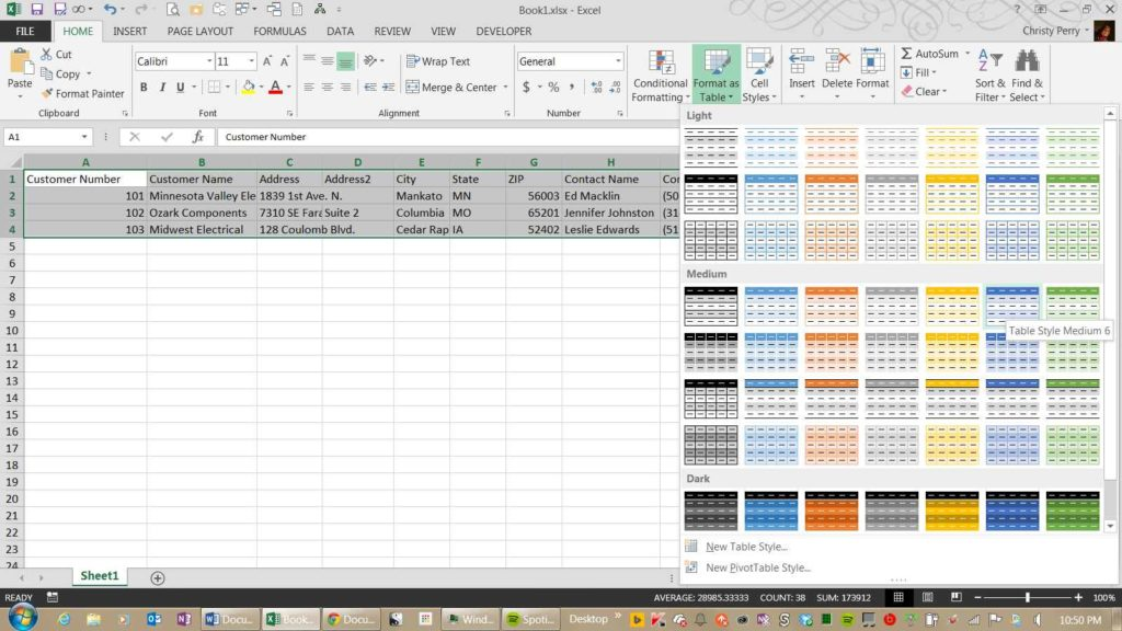Big Data Spreadsheet
