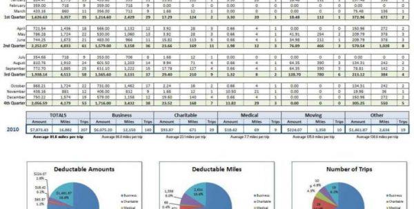 Bookkeeping Spreadsheet Template