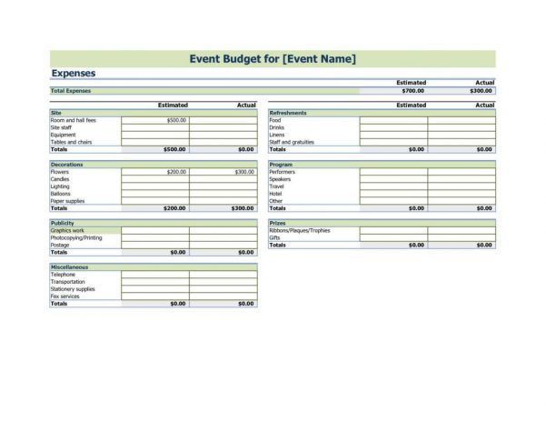 Business Tax Spreadsheet Templates