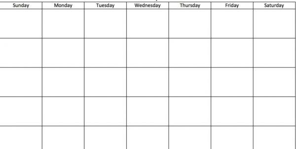 Calendar Templates Microsoft Word