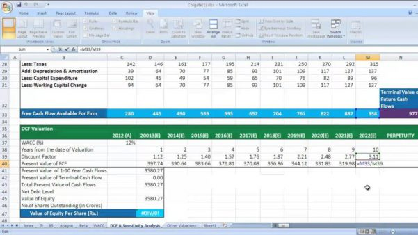 Cash Flow Excel Template Download