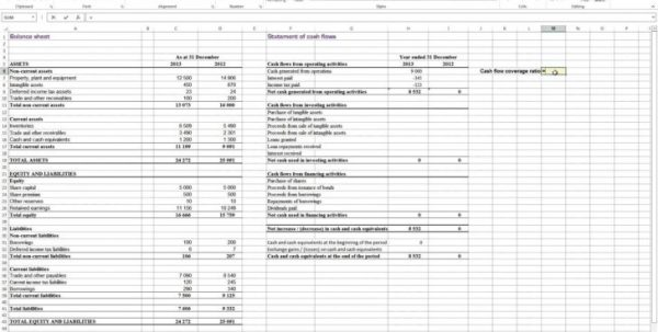 Cash Flow Excel Template Free Download