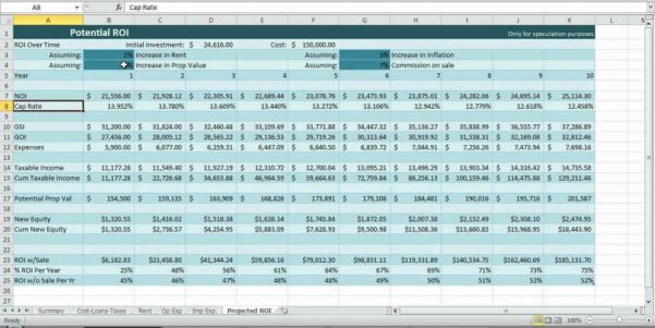 Cash Flow Forecast Example Excel