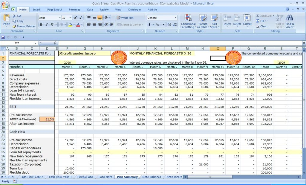 cash flow excel spreadsheet template ms excel spreadsheet