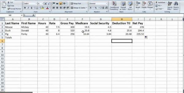 Certified Payroll Excel Spreadsheet